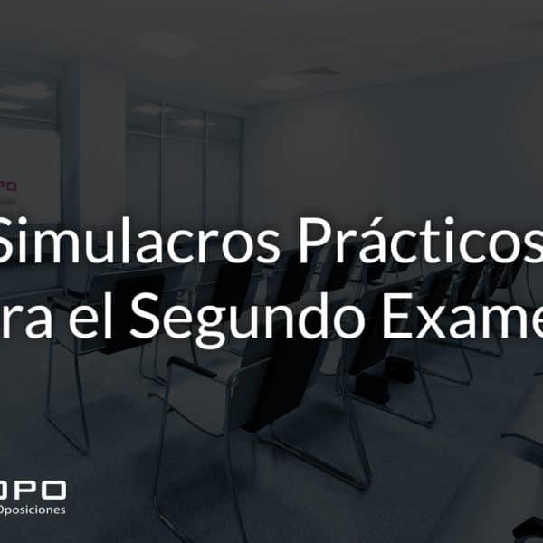 Realización de Simulacros de informática para Auxiliar y Administrativo del Estado