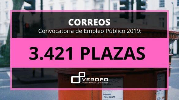 Convocatoria 2019 Correos