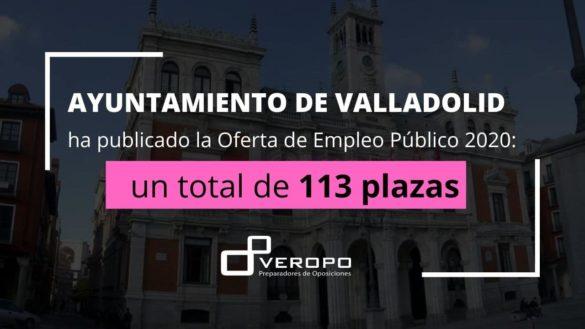 OPE 2020 Ayuntamiento Valladolid