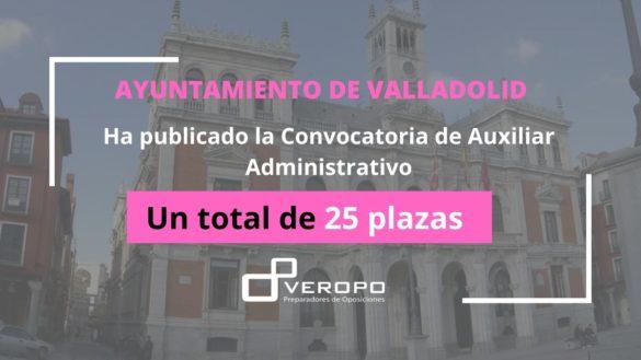 Auxiliar Administrativo Ayuntamiento Valladolid